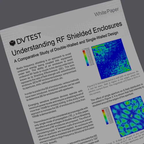 Understanding RF Shielded Test Enclosures: Single Wall and Double Wall Design